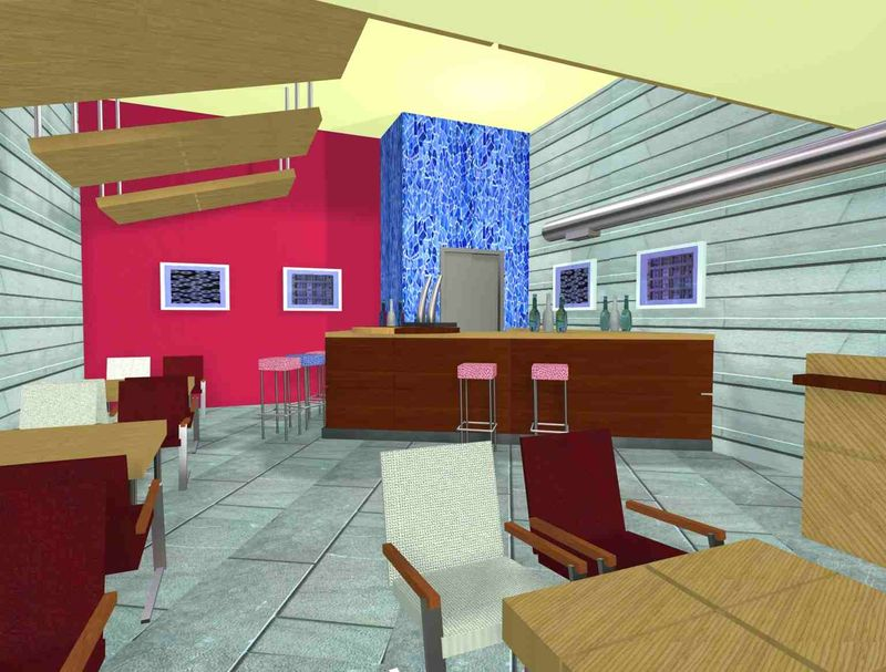 Cafe-Pub La Comedia. Salinas (Málaga). 2009